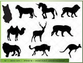Animal Silhouette Clipart