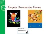 Animal Singular Possessive Nouns