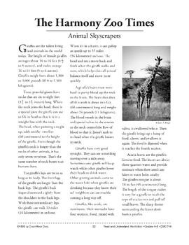 Animal Skyscrapers: Giraffes