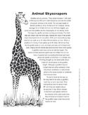 Animal Skyscrapers (Lexile 1060)