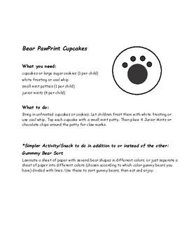 Animal Snacks Through the Alphabet  - Build-a-snack set for kids FUN!