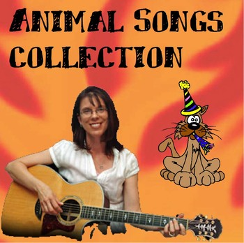 Animal Songs with Action Words for regular and special education