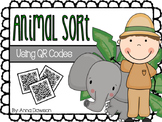 Animal Sort {Using QR Codes}