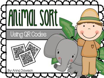 Animal Sort {Using QR Codes}