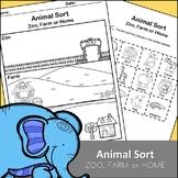 Animal Sort - Zoo, Farm or Home