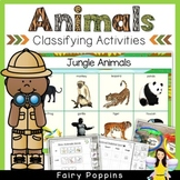 Animal Habitat Sort & Classify Activities