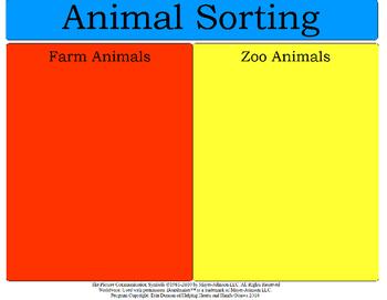 Animal Sorting