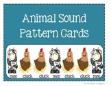 Animal Sound Pattern Cards