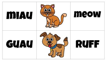 Animal Sounds Introduction to Cognates