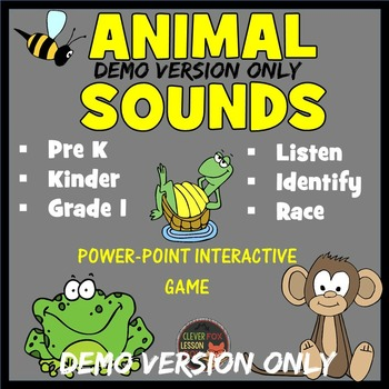 Animal Sounds - PowerPoint Game DEMO