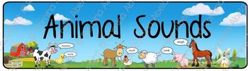 Animal Sounds Theme Banner
