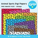 Animal Spot Digital Paper