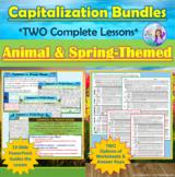 BUNDLES: Animal & Spring Capitalization Lessons