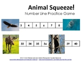 Animal Squeeze! A Number Line Practice Game