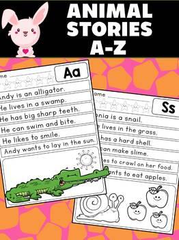 Animal Stories - Alphabet A-Z : Reading Rabbit : Build Fluency Reading Passages