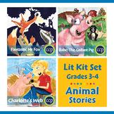 Animal Stories Lit Kit Set - BUNDLE Gr. 3-4