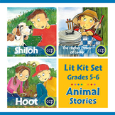 Animal Stories Lit Kit Set - BUNDLE Gr. 5-6