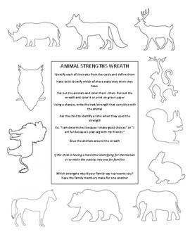 Animal Strengths Wreath