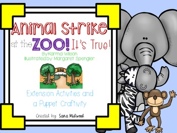 Animal Strike at the Zoo! It's True! Extension Activities