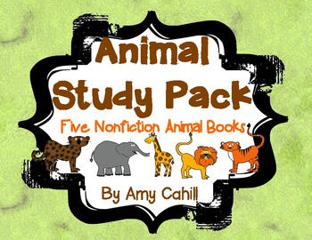 Animal Study Pack - 5 Nonfiction Books