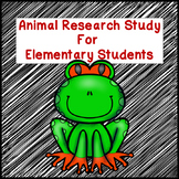 Animal Study for Elementary Students