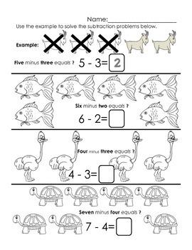 Animal Subtraction
