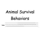 Animal Survival Behavior