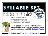 Animal Syllable Set
