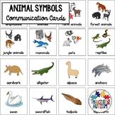 Special Education Visual Symbols Animals