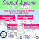 Animal Systems Activity Bundle