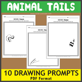 Animal Tails Drawing Prompts