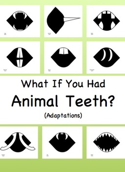 Animal Teeth Writing