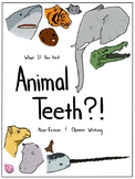 Animal Teeth Writing Activity