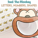 Animal Theme Activity for Preschoolers - Feed the Monkey