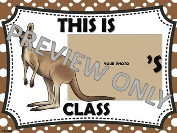 Classroom Set Up and Decor Animal Theme (middle and high school)