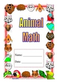 Animal Theme Math Unit, Self Contained special ed; Boardmaker; graphs, counting