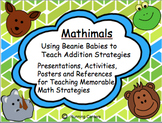 Beanbag-Themed {Beanie Babies} Addition Strategies Pack fo