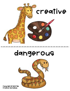 Animal-Themed Adjectives!