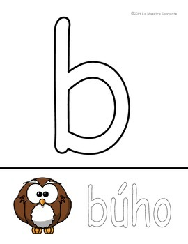 Letter Recognition: Animal Themed Alphabet Play-Doh Mats (Spanish)