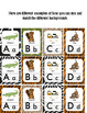 Animal Themed Alphabet Posters and Flashcards