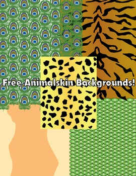 Animal Themed Background Freebie