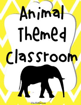 Animal Themed Classroom Decor