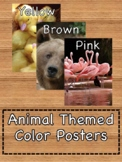 Animal Themed Color Posters