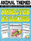 Animal Directed Drawing Activity Pack {Zip-A-Dee-Doo-Dah Designs}
