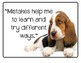 Animal Themed GROWTH MINDSET and Student Encouragement Posters