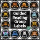 Animal-Themed Guided Reading Labels: Lions, Tigers, Bears...Oh My!
