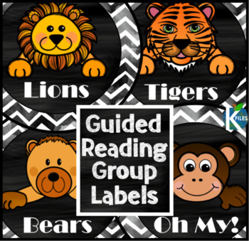Animal-Themed Guided Reading Labels with Lions, Tigers, Bears...Oh My!