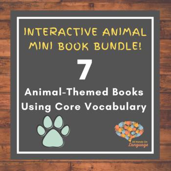 Animal-Themed Interactive Mini-Book Bundle