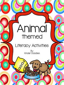 Animal Themed Literacy Activities aligned to the CCSS