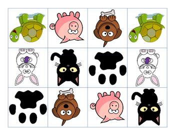 Animal Themed Matching Game